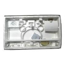 Komplet akcesoriów łazienkowych SONIA TURIA PLUS bi/zł