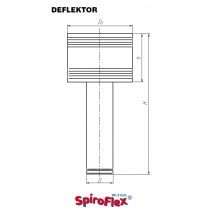 Deflektor SPIROFLEX 120