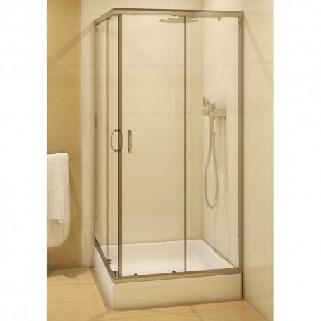 Kabina CERSANIT  SAONA  90 kwadratowa  szkło czyste